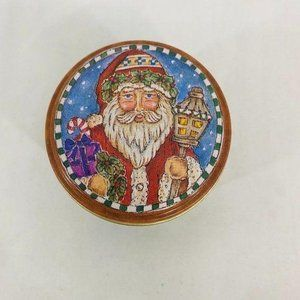 Vintage Russ Berrie Christmas Candle Collectible